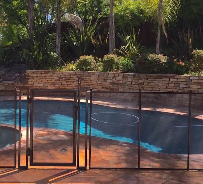 Removable Mesh Pool Fence Fremont CA